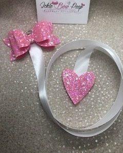 Barbie Pink Bow Holder