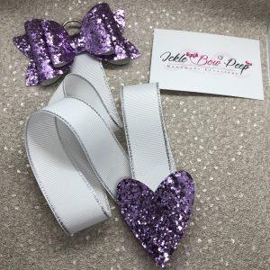 Light Purple Bow Holder