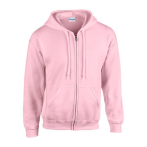 Adult Gildan Heavy Blend Zipped Hoodie