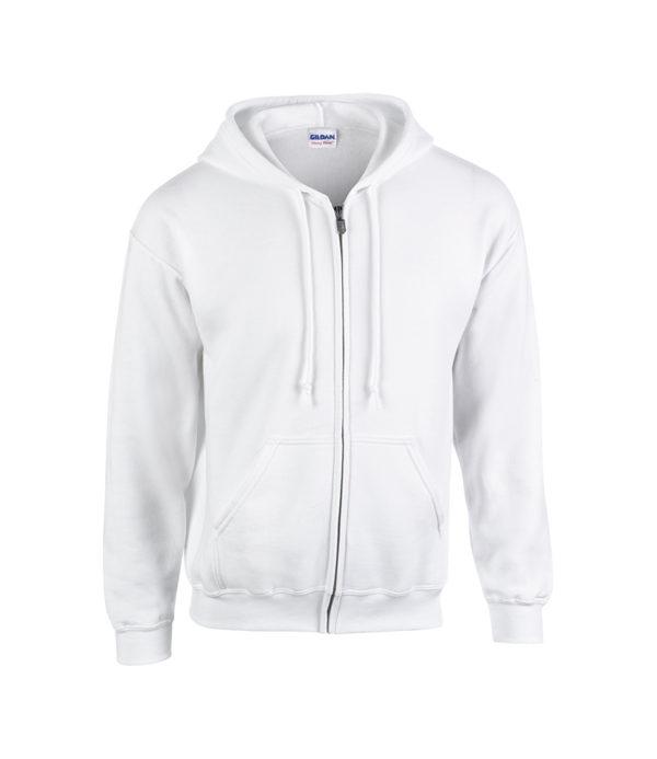 Adult Gildan Heavy Blend Zipped Hoodie