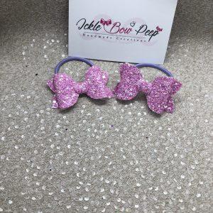 Lilac Glitter (Pair)