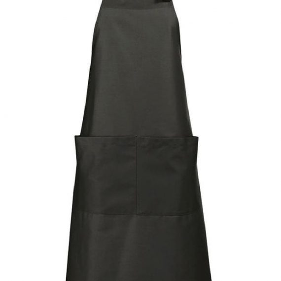 Adult Long Apron With Pockets