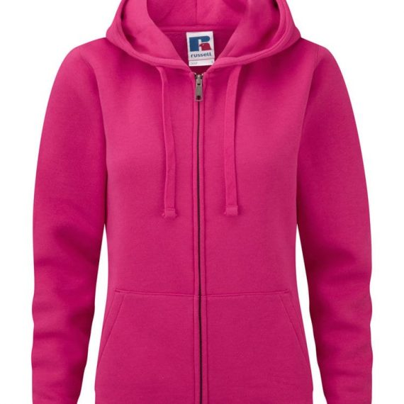 Ladies Russell Authentic Zipped Hoodie