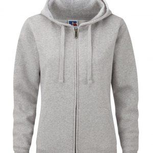 Ladies Russel Authentic Zipped hoodie