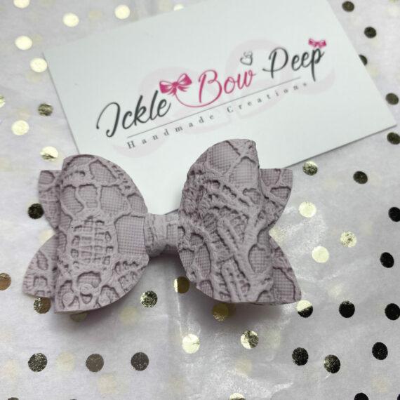 Purple Lace Leatherette